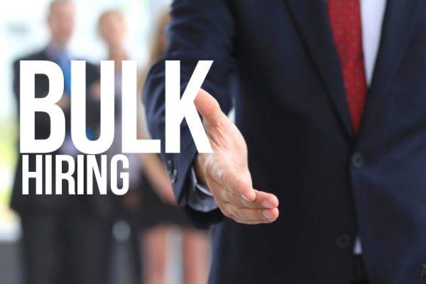 Bulk-Hiring
